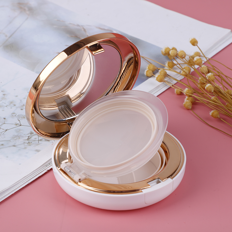 1Pcs Empty DIY Air Cushion Puff Box BB Cream Container Dressing Case With Air Cushion Mirror New Arrival