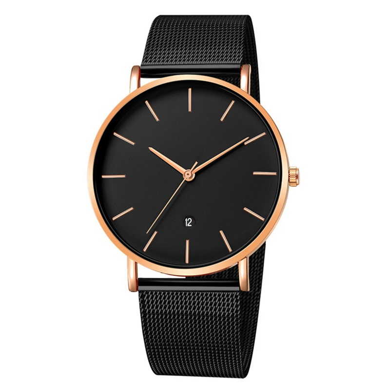 Luxury Brand 2019 New Men Watch Ultra Thin Stainless Steel Clock Male Quartz Sport Watch Men Casual Wristwatch relogio masculino 5