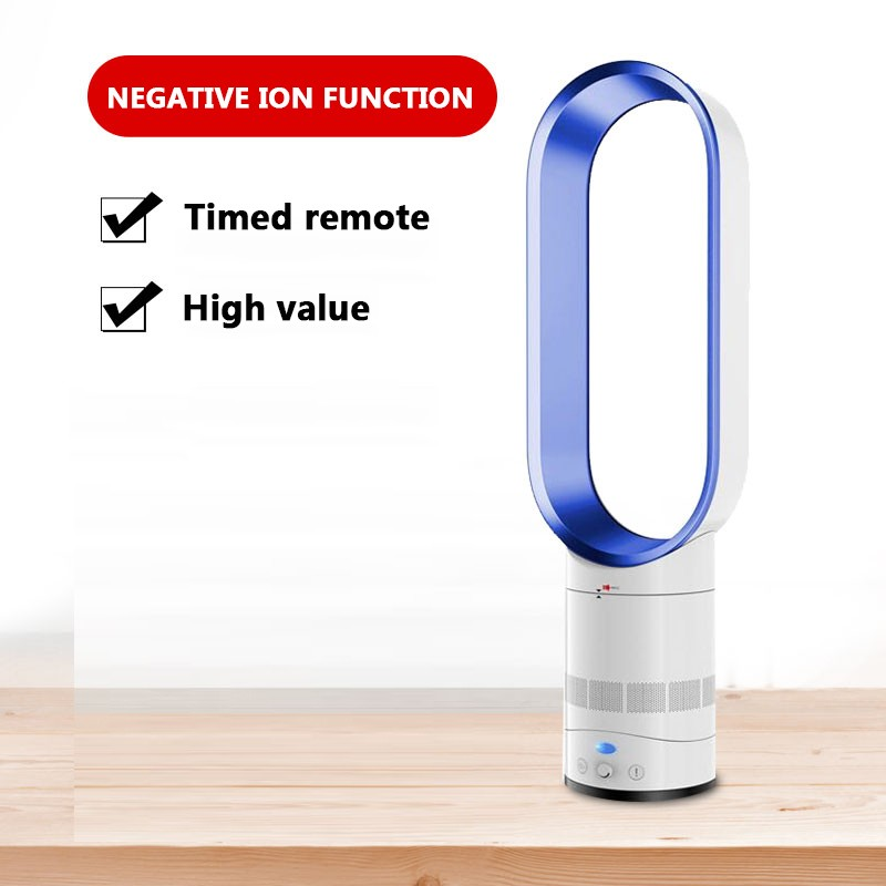 Adoolla 16 Inches No-blade Mute Fan  Home With Air Purification Function Desktop Floor Fan Can Be Turned Away  Small Fan