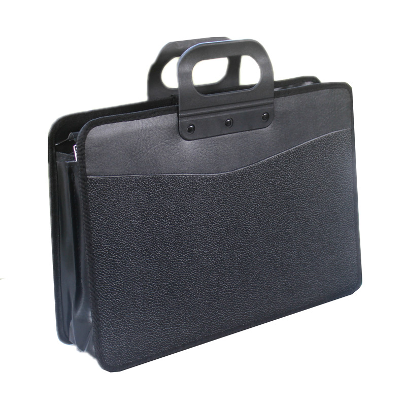 Fashion File Bag Portable Briefcase Men Business Office Bag Trend Package Work Bag File A4 Conference Bag Oxford Waterproof