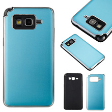 G530 Cover For Samsung Galaxy Grand Prime SM-G530FZ Cover Plating PC+Silicone Hybrid Case For Samsung Grand Prime mobile case