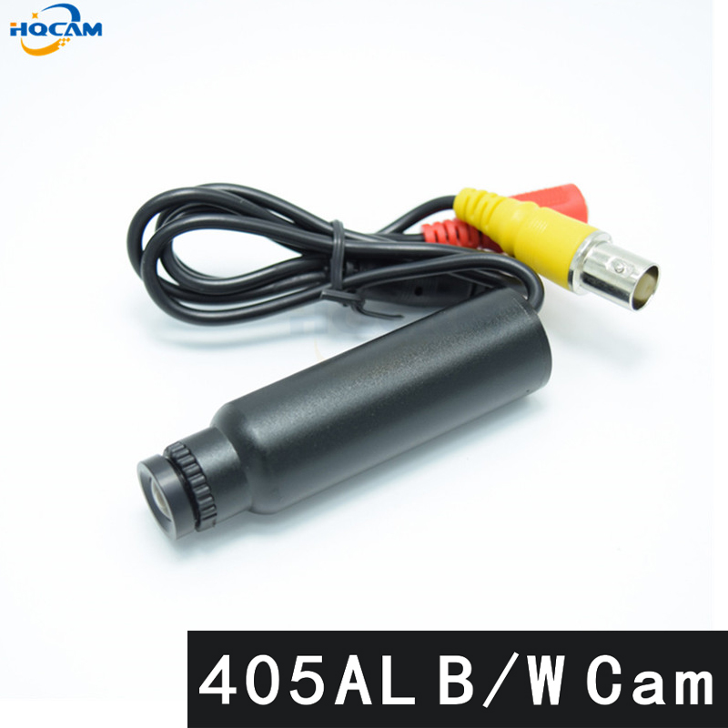 HQCAM DC 5V 405AL B/W camera Sony CCD Black and white image Analog Camera Mini Bullet Industrial test Pipeline detection CameraHQCAM DC 5V 405AL B/W camera Sony CCD Black and white image Analog Camera Mini Bullet Industrial test Pipeline detection Camera
