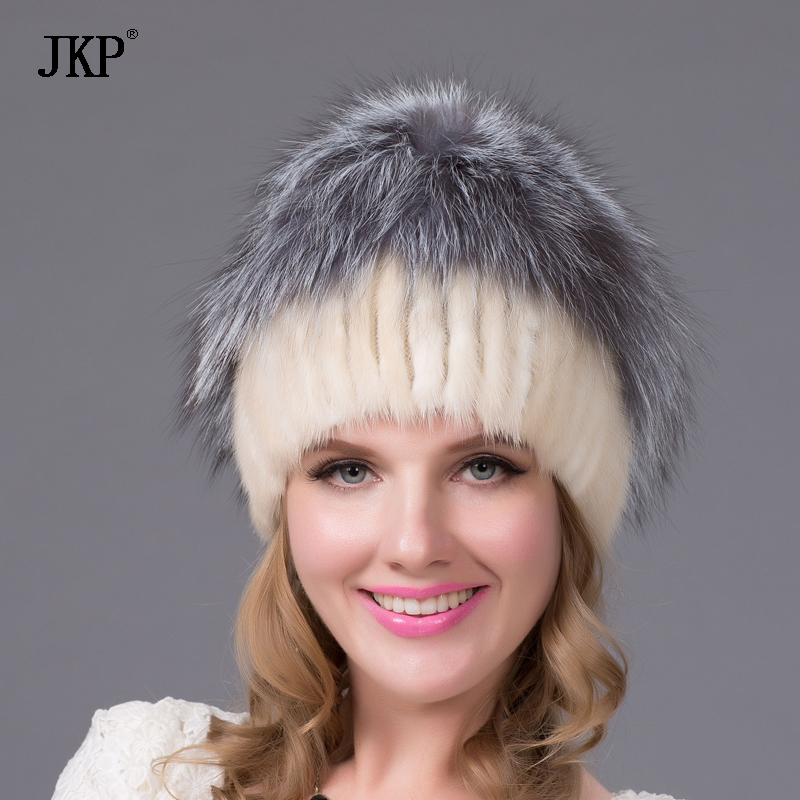 Foreign trade explosion models in Europe and America in winter knit hat fashion warm mink mink hat lady ear cap DHY-36 плед yan lin in foreign trade vs