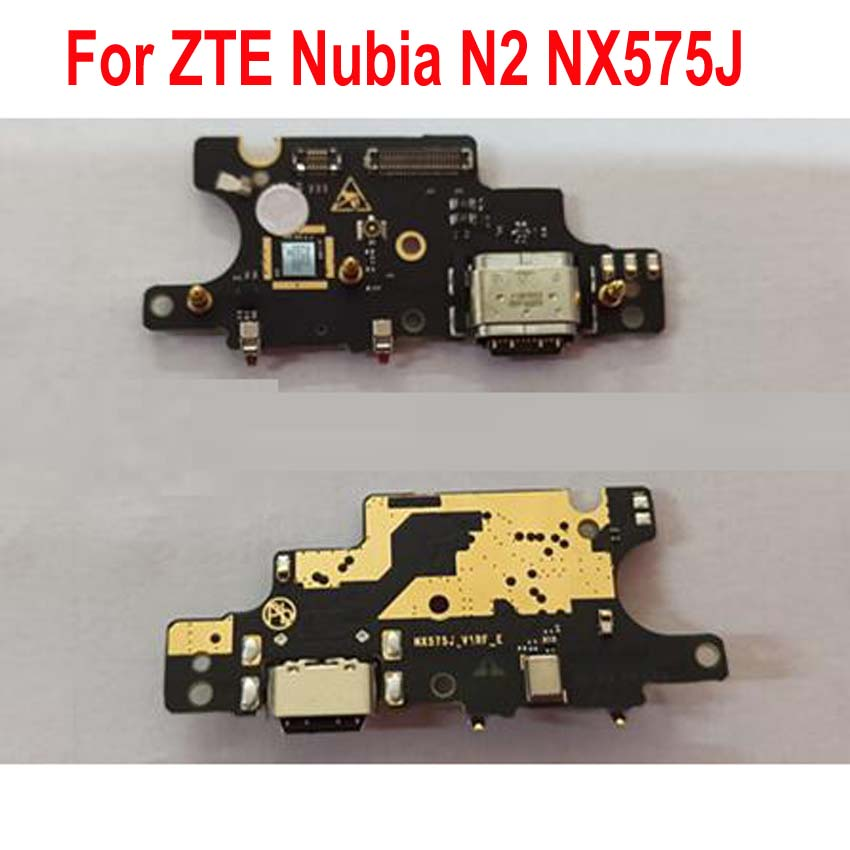 Original Working Charging Flex Charger Dock Port Board USB Connector For ZTE Nubia N2 NX575J Phone Cable Accessory Bundles(China)
