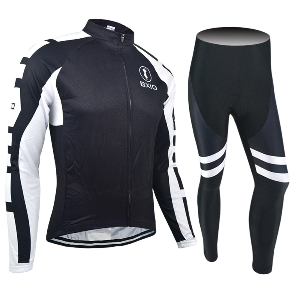 ФОТО 2017 New Arrival Bxio Long Sleeve Pro Team Cycling Set Bicycle Wear Autumn MTB Bike Clothing Ropa Ciclismo Hombre Cycling Kit 15