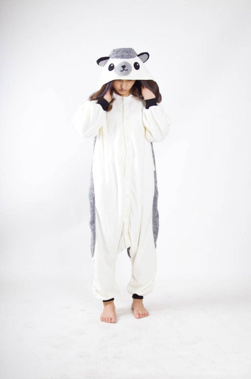 Unisex Adult Kigurumi Pajamas Anime Cosplay Costume Animal Onesieo Sleepwear Bat