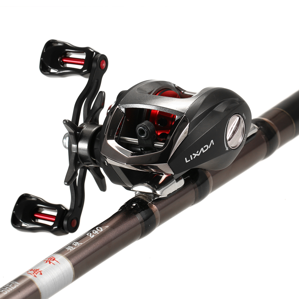 12+1 Ball Bearing Baitcasting Fishing Reel