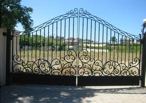 4 Ft Wide Metal Gates Steel Metal Gates Automatic Security Gates