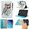 Флип Чехлы Для Samsung Galaxy Tab E 9.6 T560 T561 9.6 дюймов SM-T560 чехлы shell Аксессуары Tablet Окрашенные PU кожа
