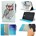 Flip Cases For Samsung Galaxy Tab E 9.6 T560 T561 9.6 inch SM-T560 cases covers shell Accessories Tablet Painted PU Leather
