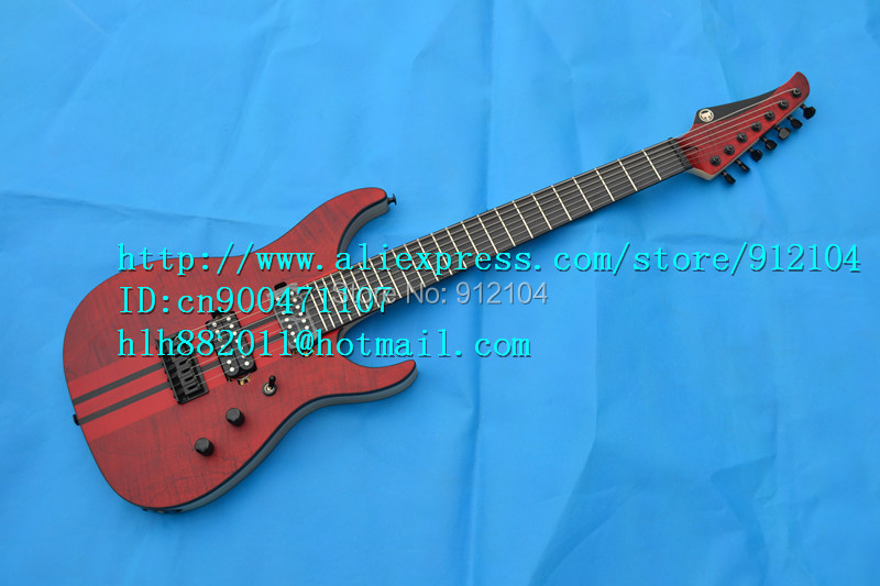 ②free shipping new 7-strings electric guitar with the whole body in ...