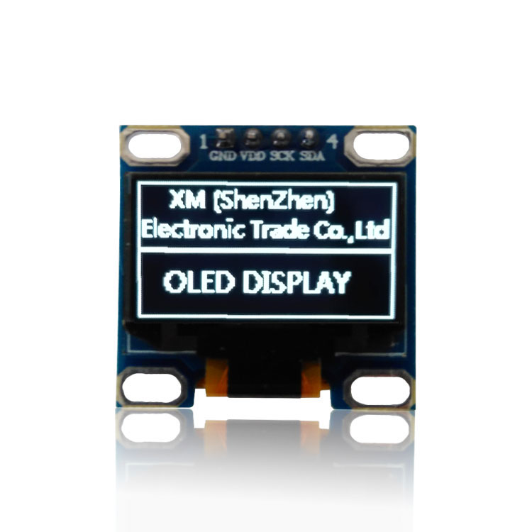 2014 whiteyellow blueblue New 128X64 OLED LCD LED Display Module For 096 I2C IIC  Communicate