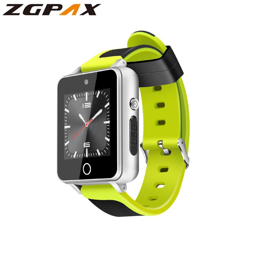 ZGPAX S9 Smart Watch Android 5 1 MTK6580 512MB 4GB support SIM TF card Bluetooth 4