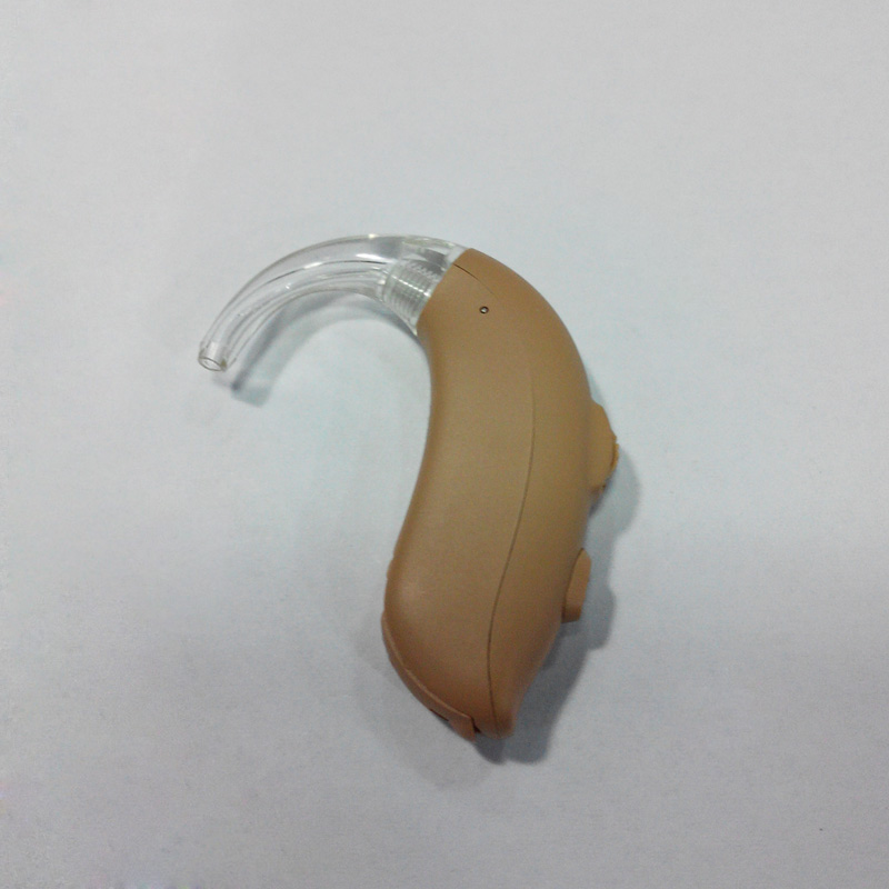 Cheap Multi-core Normal Power 4 Channels 8 Bands 2 Memories Programmable Digital BTE Hearing Aids