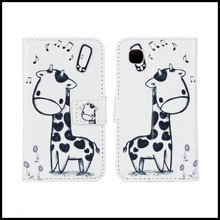 Leather Phone Cases Cute Animals for LG L40, D160