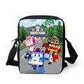 FORUDESIGNS Newest 3D Cartoon Robocar Poli Bag Children School Bags For Boys Kid Students Book Bag Cute Car Doll Print Schoolbag