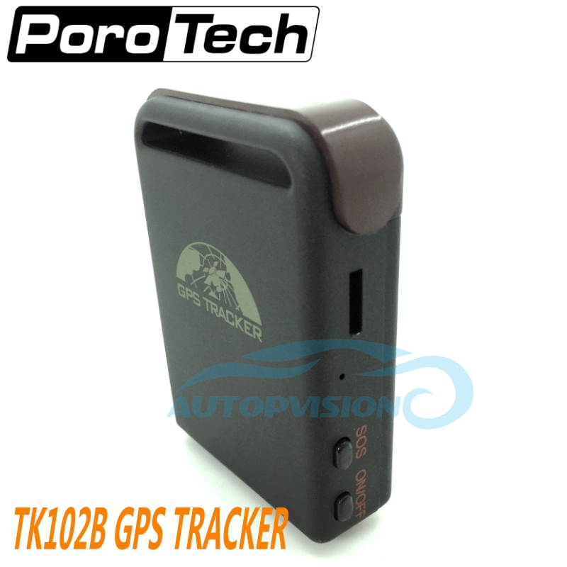 цена на Wholesale coban GPS102B vehicle GPS tracker TK102 Car GSM GPRS GPS Tracker Real Time Car Vehicle Tracking Locator Device