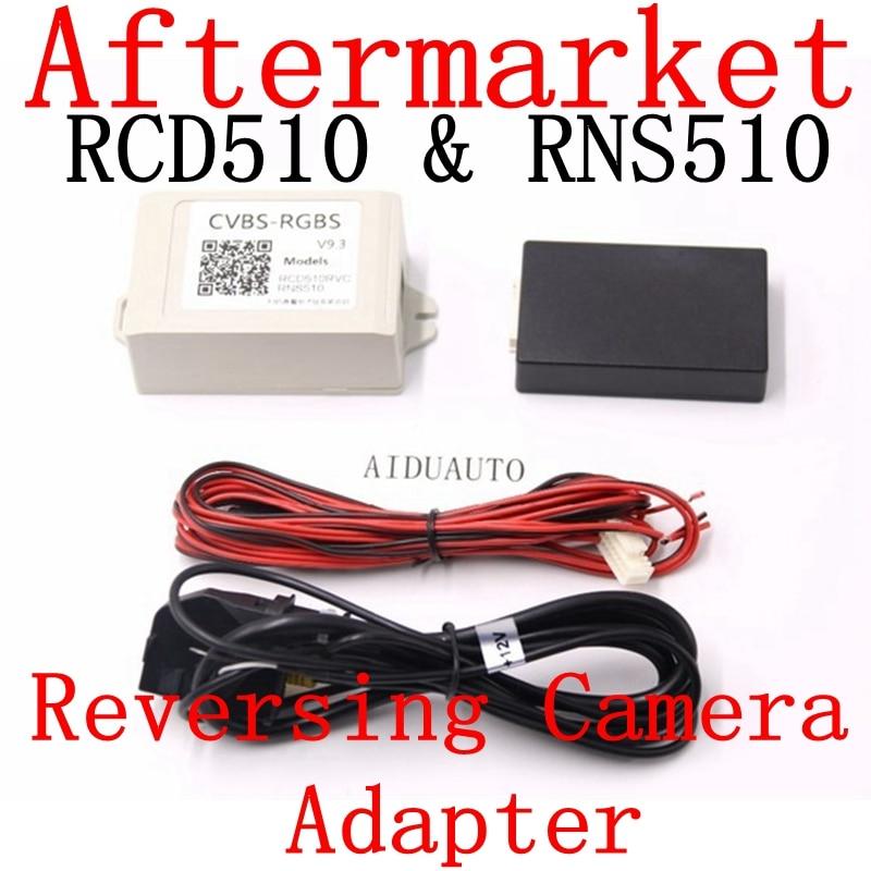 AV decoder video Converter Box CVBS-RGBS RCD510 RNS510 RNS315 Rear view Av Camera Converter Adapter CVBS To RGB Box