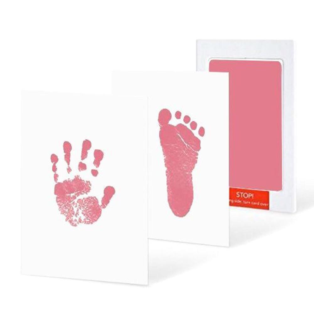 Fashion Newborn Baby Infant Handprint Footprint Non-Toxic Ink Pad Memento Souvenir