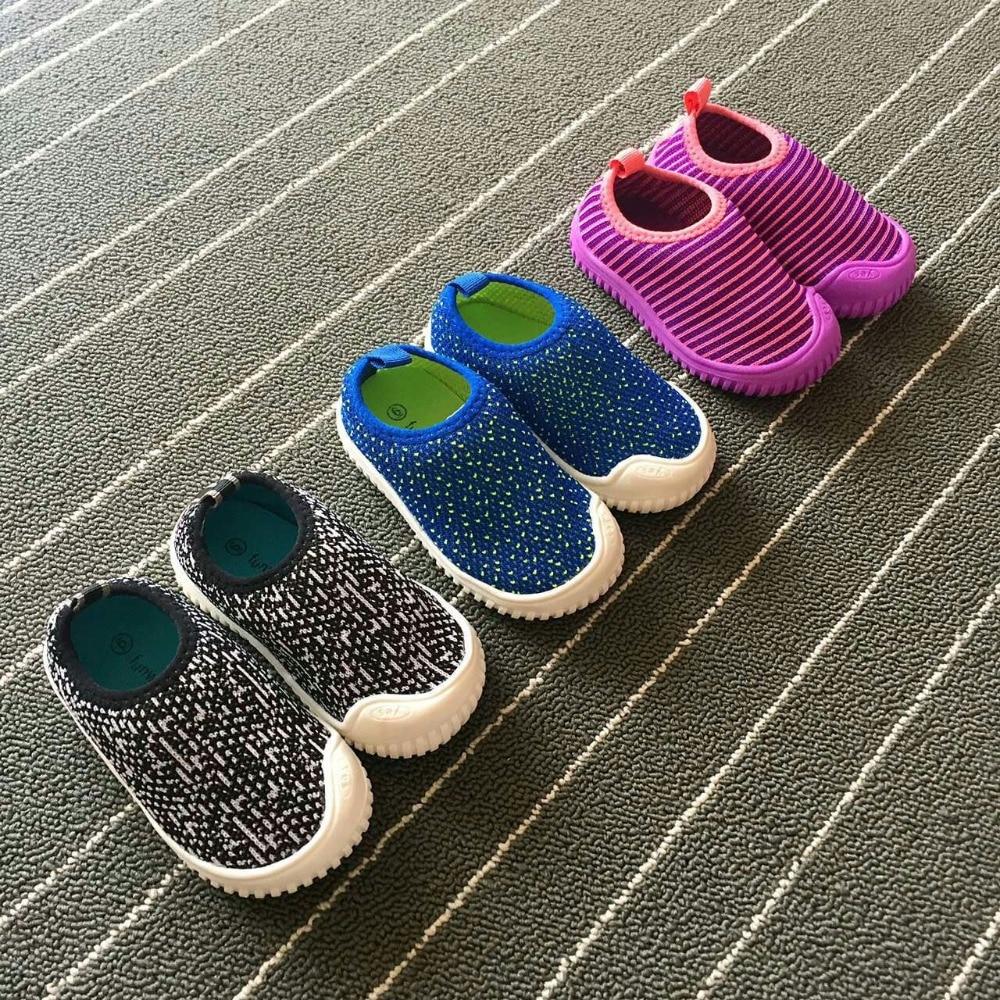 2017 Børnesko børn Sandaler blødt luftnet casual sportssko baby drenge piger sandaler åndbar løbe sneakers størrelse 5-12