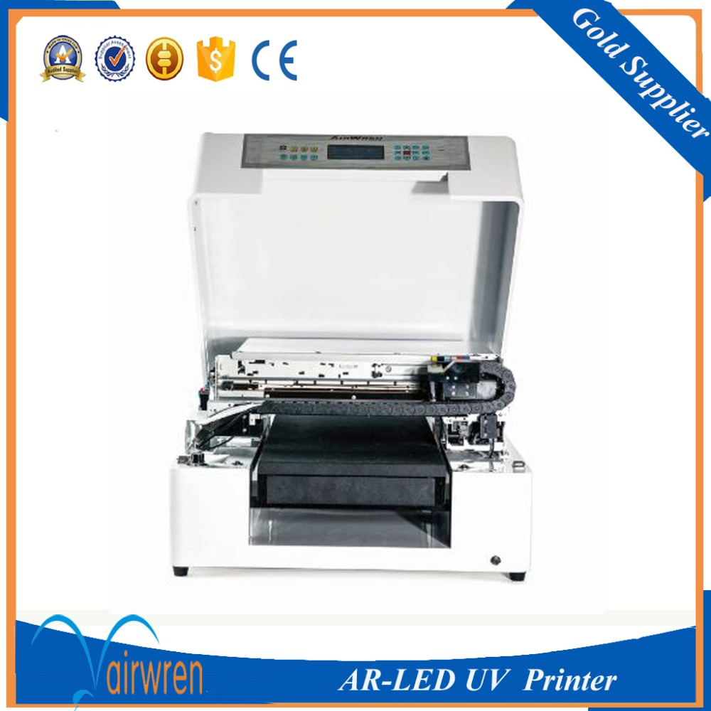 CE certification automatic a3 size uv printing machine flatbed inkjet machine with water cooling system  цены