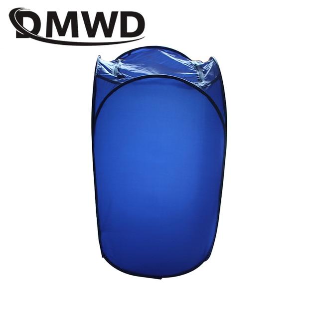 DMWD Mini Portable Garment Dryer Electric Laundry Air Warmer Wardrobe Dehydrator Foldable Baby Clothes Quick Drying Machine Rack 3