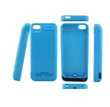 NENG 7 Colour High Quality Rechargeable Battery Charging Case for iphone 5 5s 5c SE Pack with Stand 4200mAh White