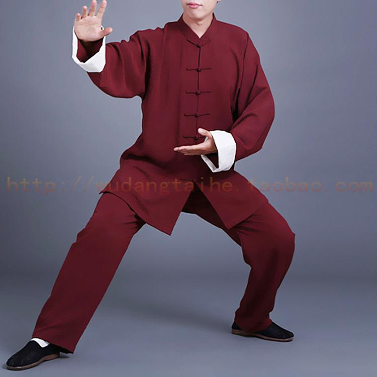 Wudang Tai Chi Clothing Linen Chinese Clothing Chinese Martial Art Clothes Exercise Clothing