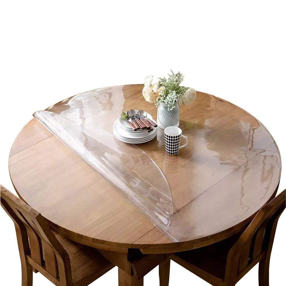 Crystal Clear Table Top Protector Plastic Tablecloth Kitchen Dining Room Wood Furniture Protective Cover Pad Mats Pads Aliexpress