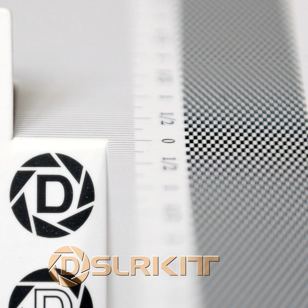 Carte pliante lentille outil de mise au point étalonnage alignement AF Micro réglage règle graphique