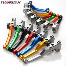 Motorcycle CNC Dirt Bike Pivot Brake Clutch Levers For Suzuki RM85 RMZ250 RMZ450 DRZ400S/SM 2005 2006 2007 2008 2009 2010 2015