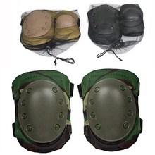 Ourpgone Brand Outdoor Knee Pads New Tactical Paintball Protection Hign Quality Knee Pads Elbow Pads Set Free shipping