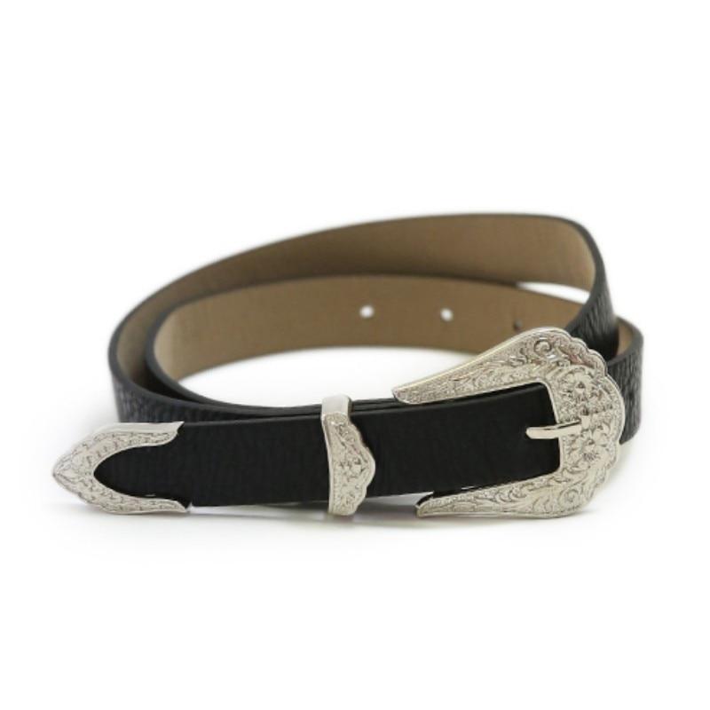 682504a3e New Metal Pin Buckle Women's Belts Fashion Leather Brand Strap Vintage  Female Waistband Jeans Ceinture Femme riem kemer gg belt