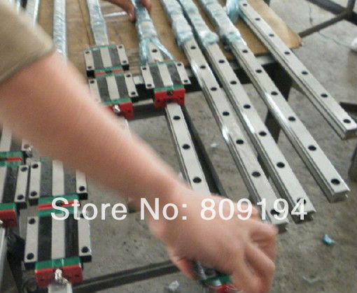 440mm  HGR20HIWIN  linear guide rail  from taiwan free shipping to argentina 2 pcs hgr25 3000mm and hgw25c 4pcs hiwin from taiwan linear guide rail