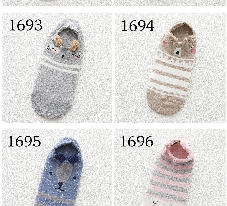 SP&CITY Cute Animal Cotton Socks Female Kawaii Cat With Dog Summer Short Socks Slippers Women Casual Soft Funny Boat Socks HTB1McJVRpXXXXX XVXXq6xXFXXXz