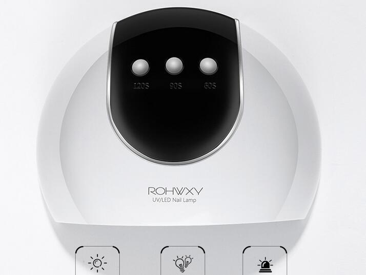 10pcs 24W Nail Dryer 8 LED Three Time Setting Smart Motion Sensor UV Lamp Light For Curing All Nail Gel Polish