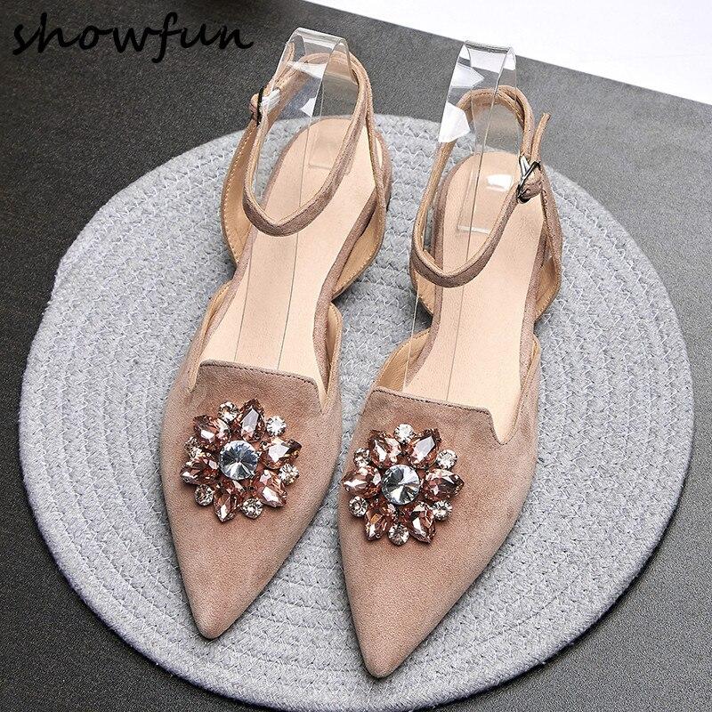 Sandales pour cuir femmes bride en à véritable BrSBW6P
