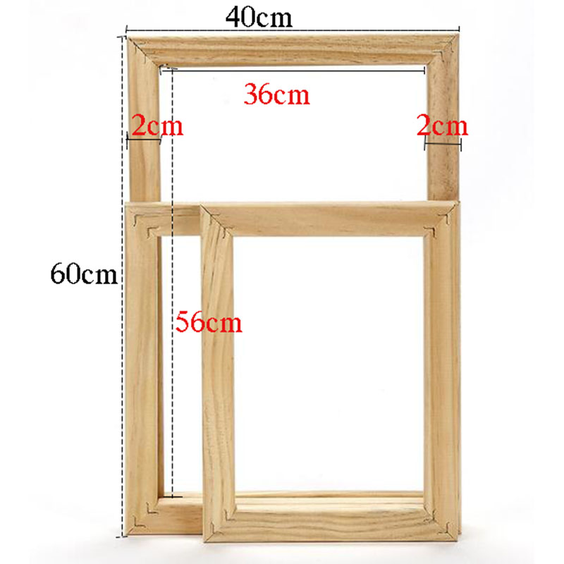 Wooden Frame DIY Picture Frames Diamond painting frame Cross Stitch ...