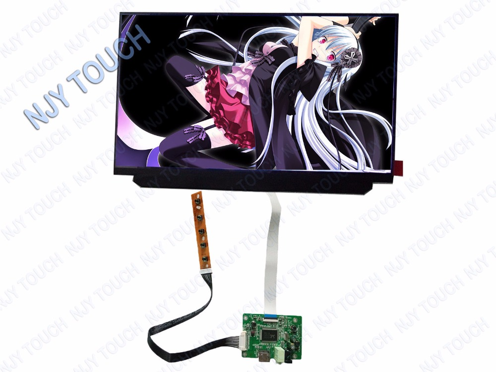 "HDMI LCD Controller Board kit plus 12.5"" IPS LCD Panel B125HAN02.2 1920x1080 LED Screen