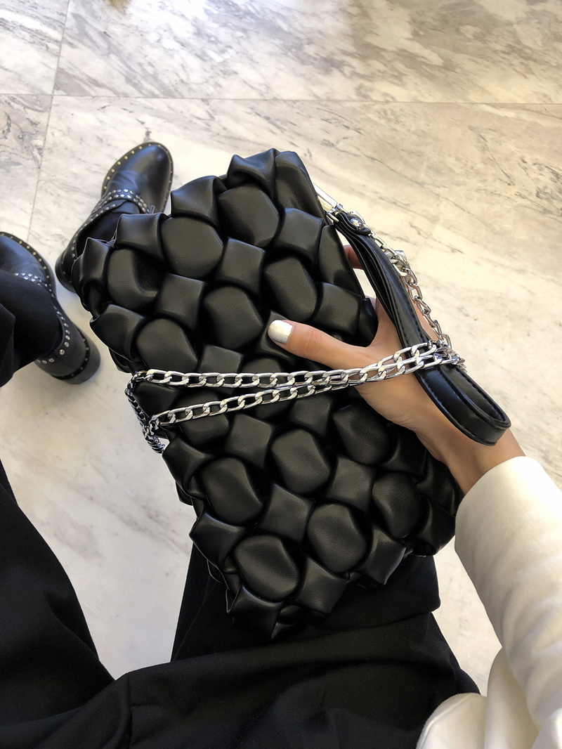 Fashion Quilted Crossbody Bag For Women Handbags High Quality Brand Female Envelope Clutch Bag Chain Message Bag