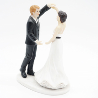 Bride Broom Wedding Engagement Resin Cake Topper Marriage Wedding Anniversary Bridal Shower Party Decoration Favor Supplies