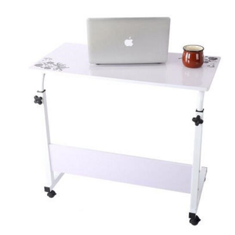 hh# With a simple folding lifting table lazy bedside notebook comter desk desktop home bed FREE SHIPPING high quality simple notebook computer desk household bed table mobile lifting lazy bedside table office desk free shipping