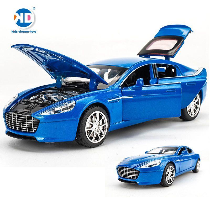 6 durų atidaryti modeliai Prabangūs automobiliai 1/32 Die-Cast - Žaisliniai automobiliai