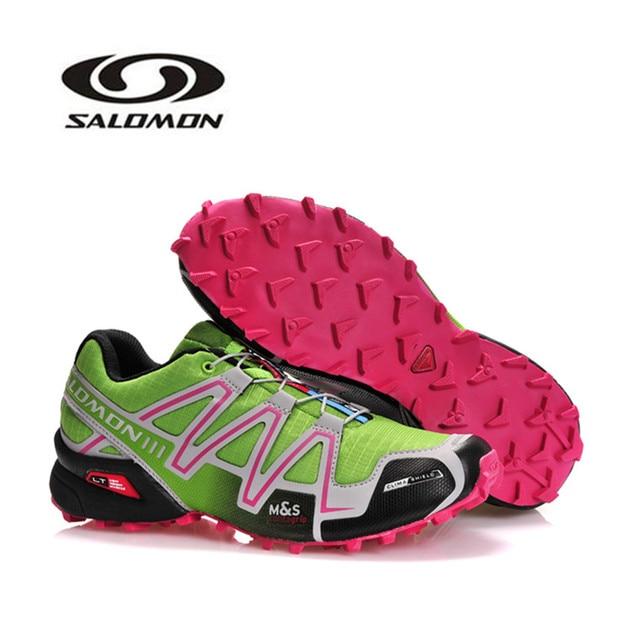 8216af61d786 2018 New Salomon Speed Cross 3 CS III Men Shoes Sneakers Outdoor Sports  Running Shoes Speed Cross apple green Men s EUR 40-46