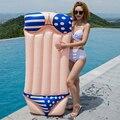 180 cm Riesen Sexy Bikini Aufblasbare Pool Float Für Erwachsene Lie auf Luft Matratze Frauen Sommer Wasser Spaß Spielzeug schwimmen Ring Liege-in Schwimmringe aus Sport und Unterhaltung bei