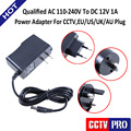 DC 12V 1A Power Supply Adapter AC 110-240V Qualified CCTV Power Adapter EU/US/UK/AU Plug Fit For Your Country