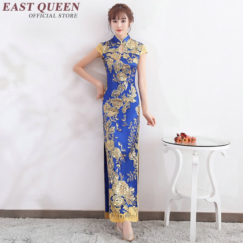 Chinese traditional dress women chinese oriental dresses modern design chinese dress qipao AA2606 Y