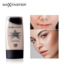 MAXFASFER основа для макияжа Жидкая основа увлажняющий крем водонепроницаемый отбеливающий консилер осветляет матовую стойкая косметика