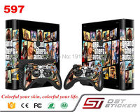 2017 Hot Selling Pro Gamer Cover Decal For Xbox 360 Skin Sticker For Xbox 360 E