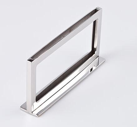 10pcs stainless steel POP presentation Store Label price tag card frame advertising poster picture photo label display rack